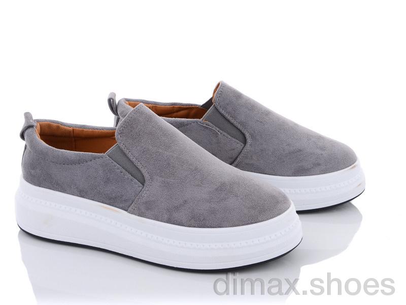 Violeta 92-30 grey Слипоны
