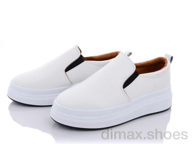 Violeta 92-31 white Слипоны