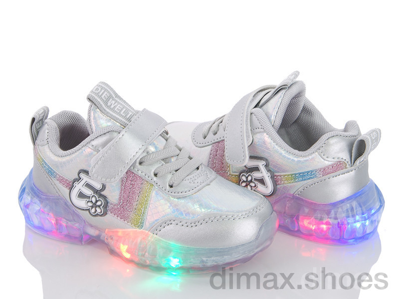 Style-baby-Clibee NX9068A silver Кроссовки
