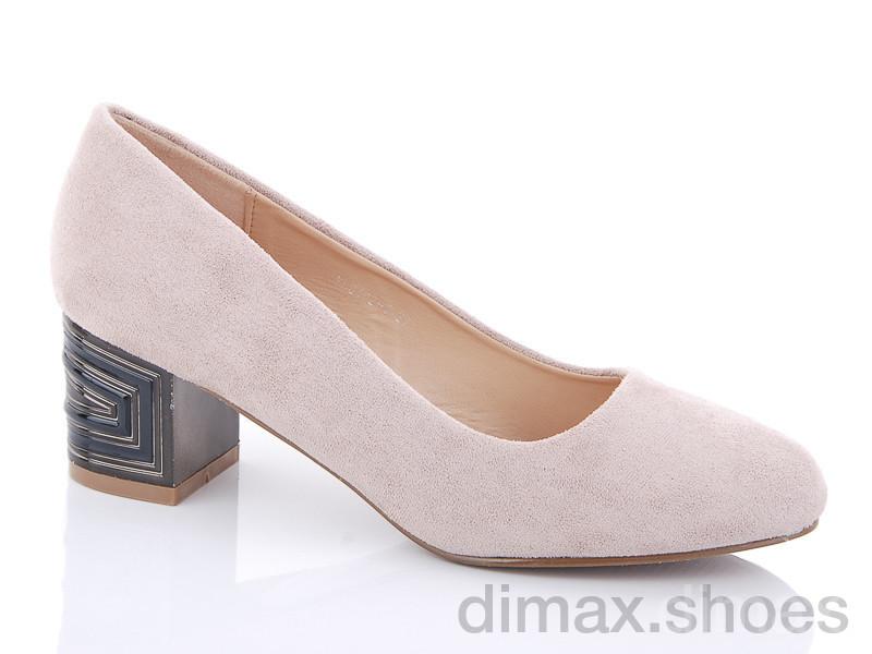 Purlina YL9402-3 розовый Туфли