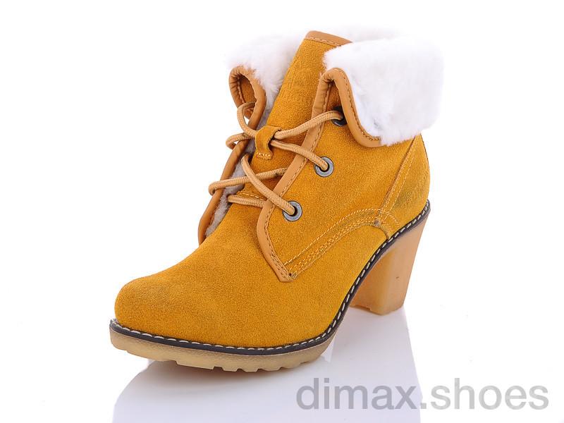 AOKA MB062-4 желтый Ботинки