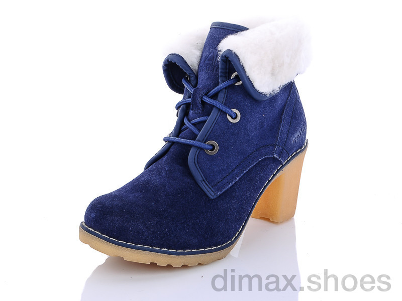 AOKA MB062-2 синий Ботинки
