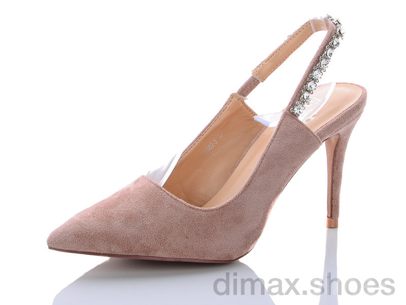 Башили P682-3 розовый Туфли