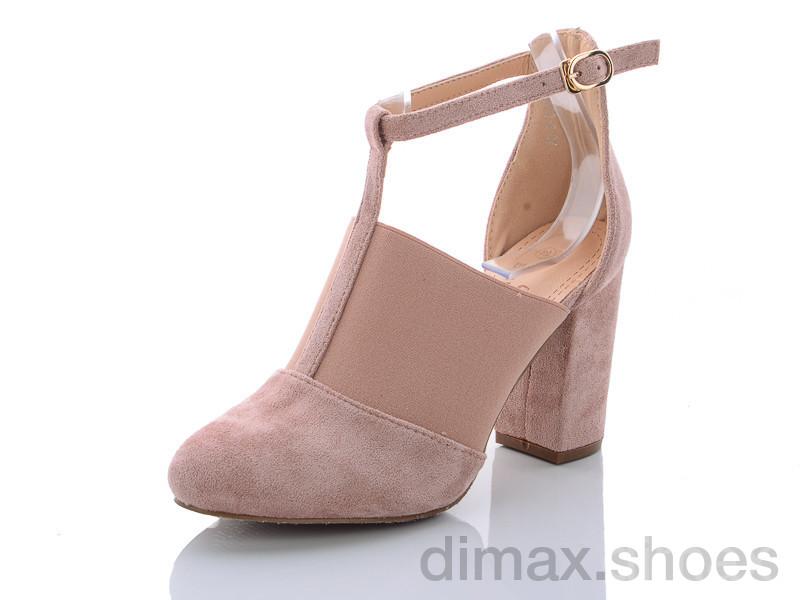 Башили 3830-8 розовый Туфли