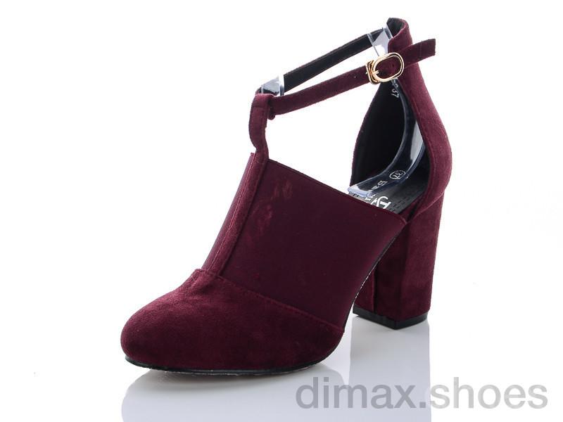 Башили 3830-2 фиолетовый Туфли