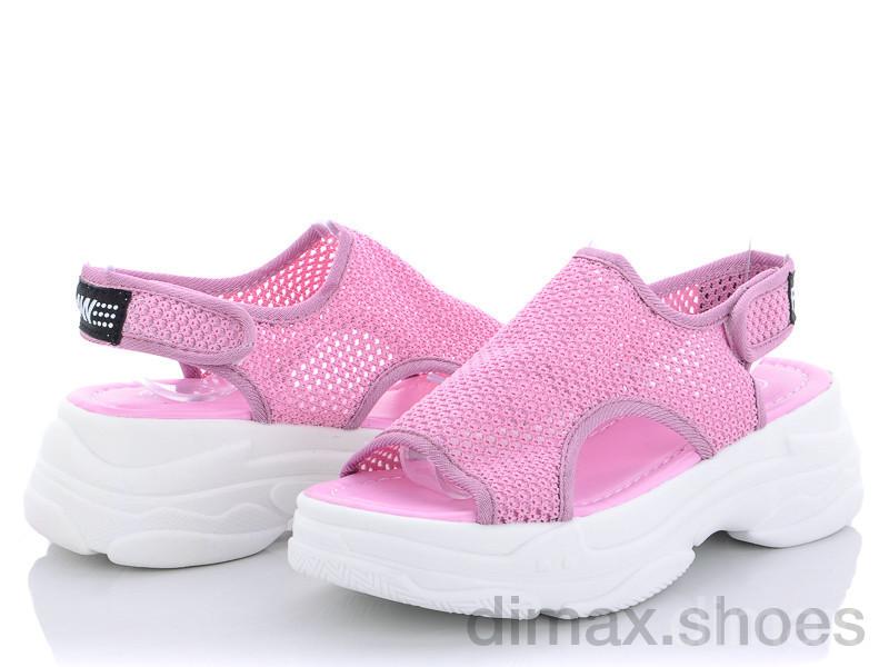 Diana Босоножек сетка розовый Босоножки