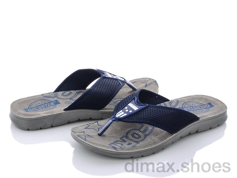 DeMur M6132 blue Шлепки