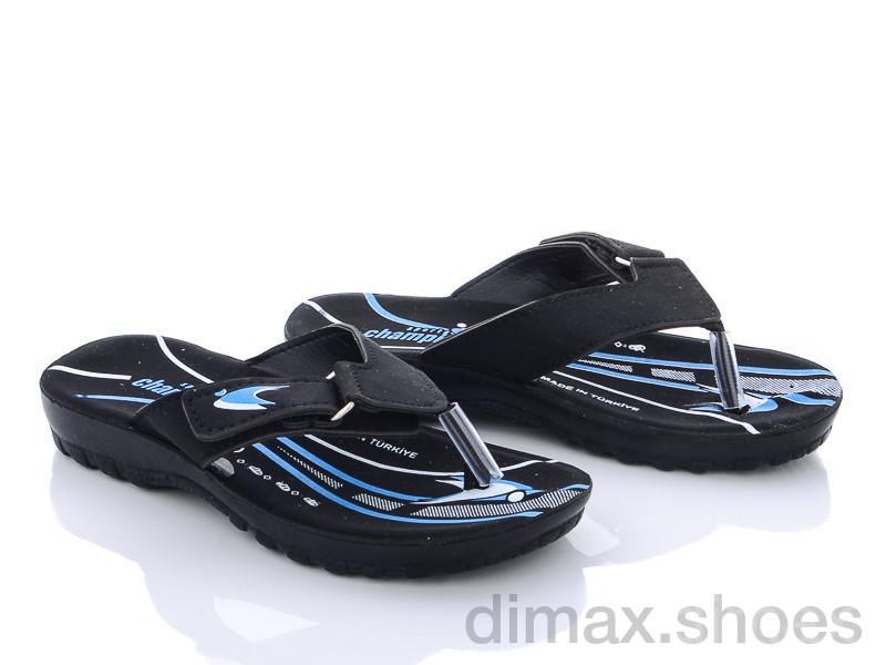 DeMur B6101 blue Шлепки
