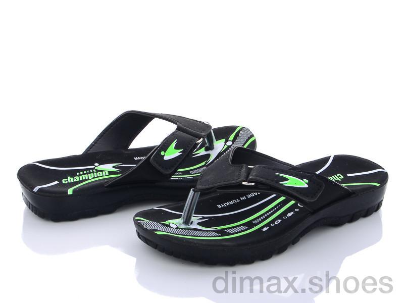 DeMur B6101 green Шлепки