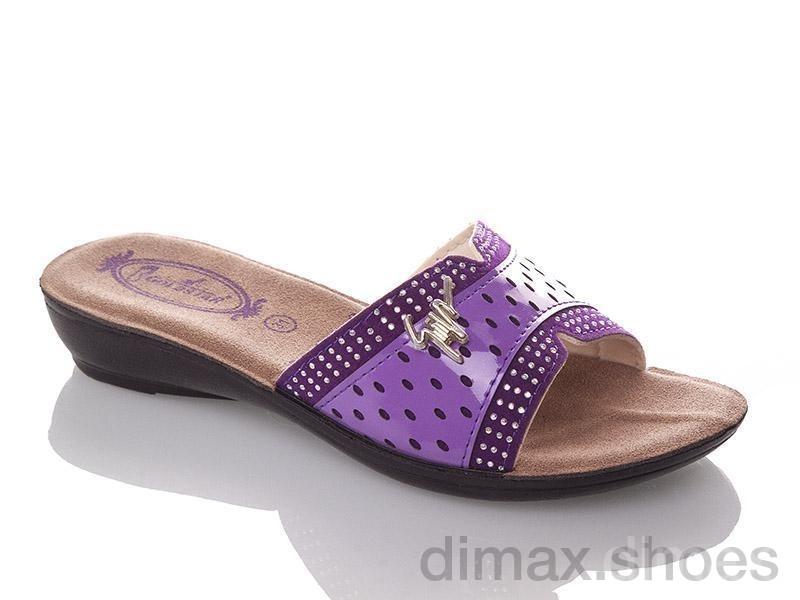 DeMur G810B-purple Шлепки
