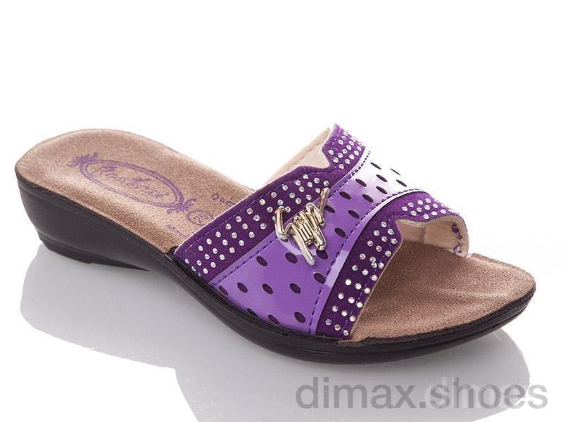 DeMur G810A-purple Шлепки