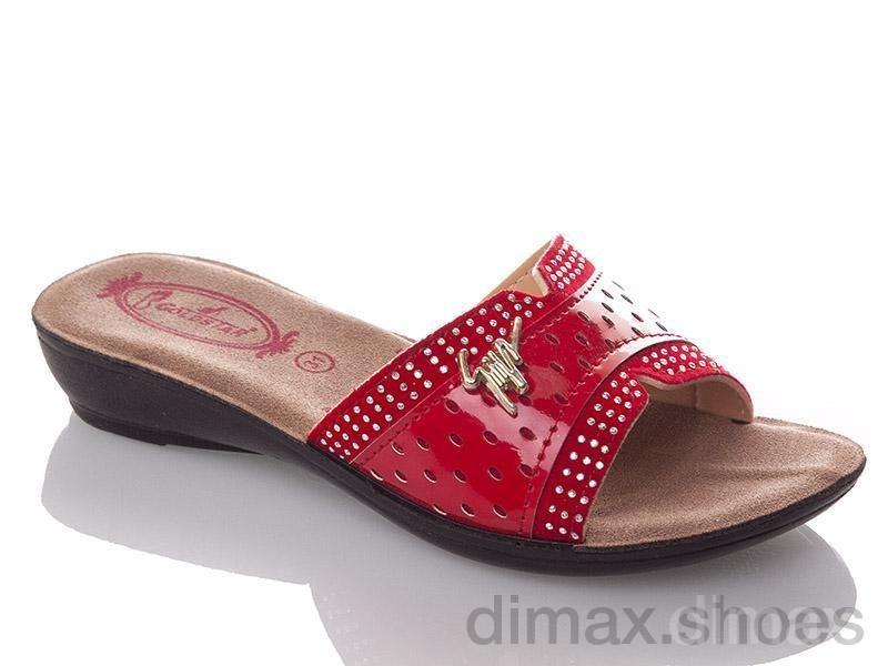 DeMur G810A-red Шлепки