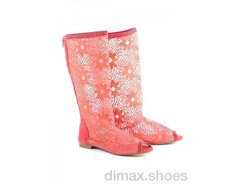 Diana N6 pink АКЦИЯ Сапоги