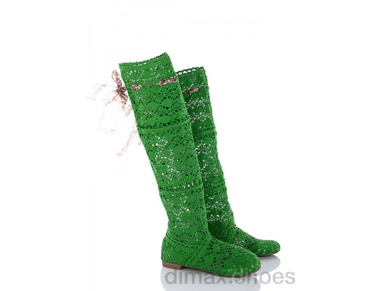 Diana N8 зеленый АКЦИЯ Сапоги