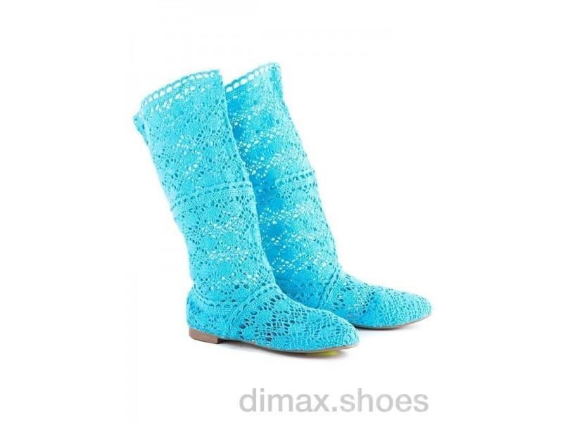 Diana N2 blue АКЦИЯ Сапоги