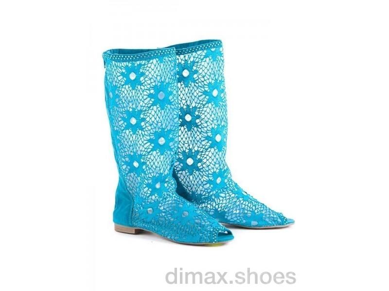 Diana N6 blue АКЦИЯ Сапоги