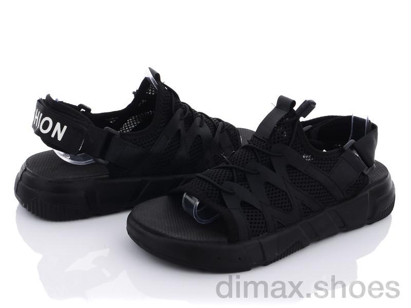 Summer shoes 68-02 black Сандалии