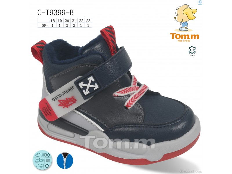 TOM.M C-T9399-B Ботинки