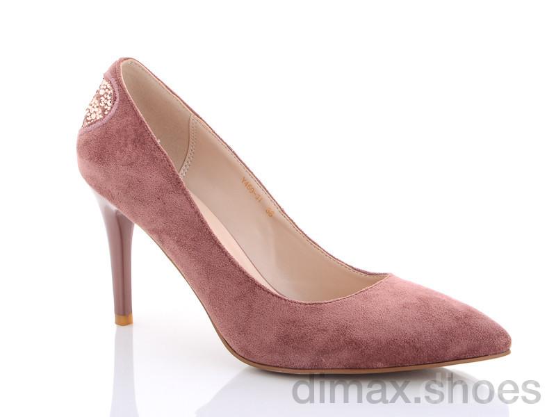 Lino Marano Y459-31 розовый Туфли