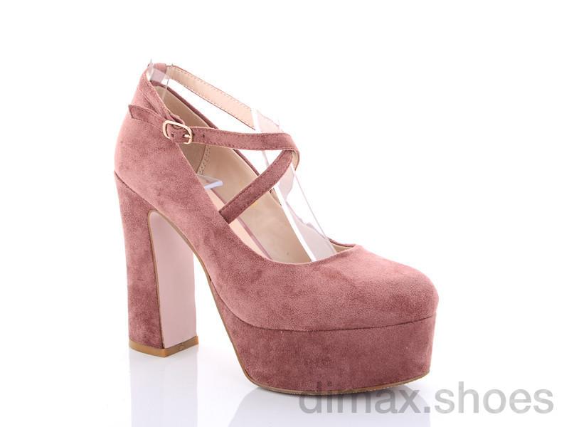 Lino Marano Y446-31 розовый Туфли