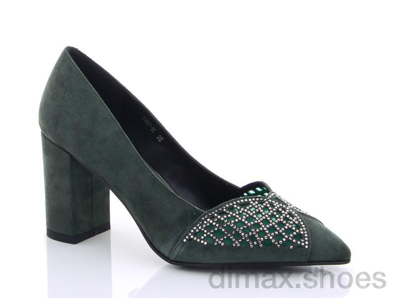 Lino Marano Y467-16 зеленый Туфли