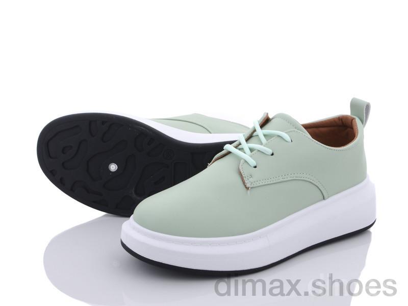 Violeta 172-11 green Туфли