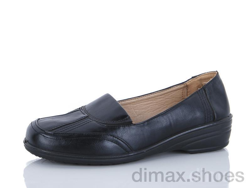 Chunsen 2177-1 черный Туфли