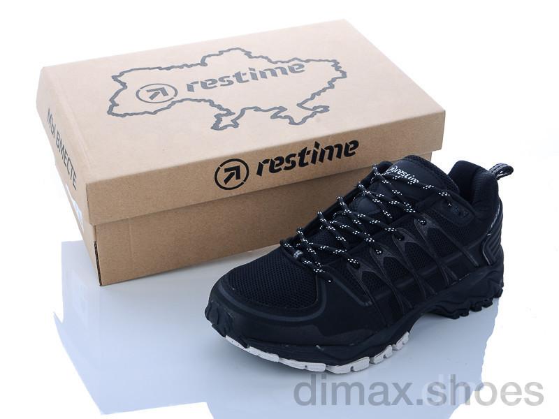 Restime AML20877 black Кроссовки