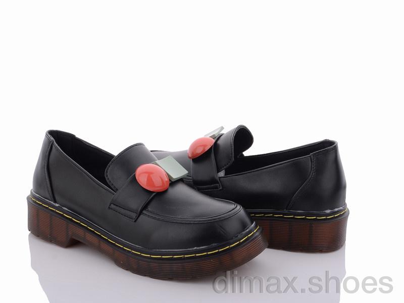 Rama A5365-1 black p. Туфли