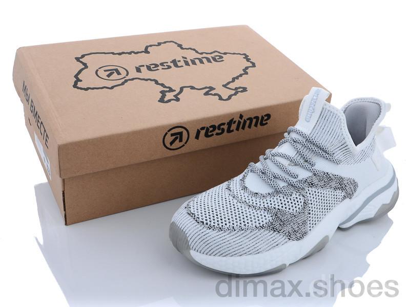 Restime BML21432 grey-white Кроссовки