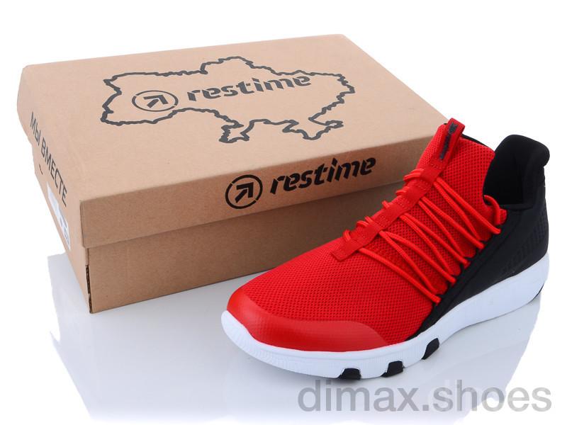 Restime PML21365 red-black Кроссовки
