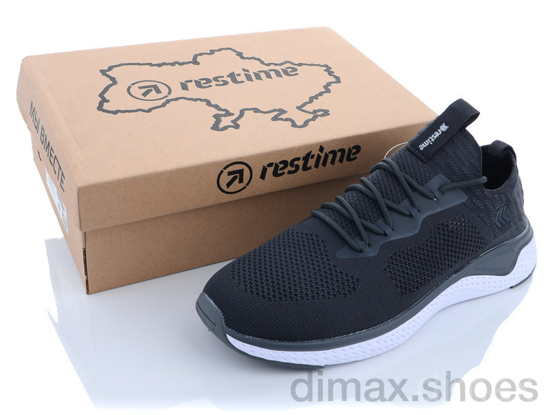 Restime BGL21543 grey-white Кроссовки