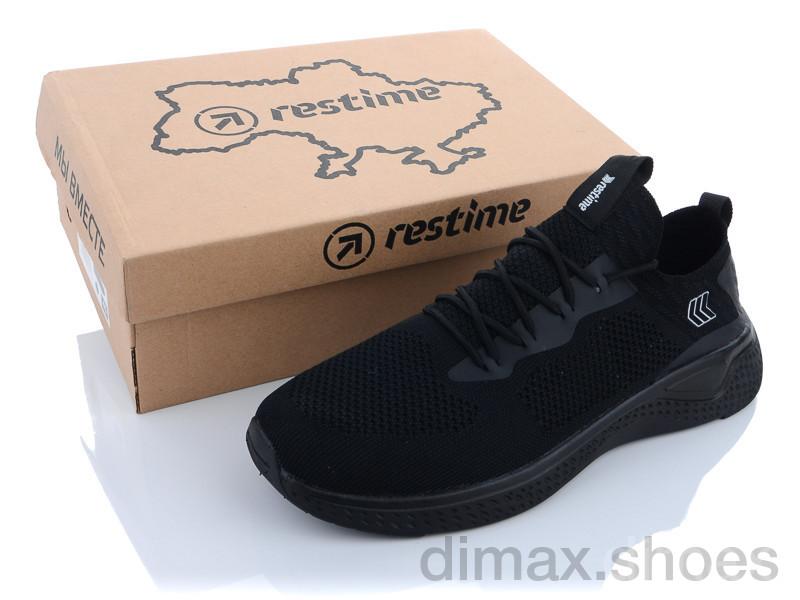Restime BGL21543 black Кроссовки