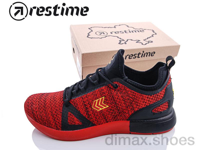 Restime PMB18171 red Кроссовки