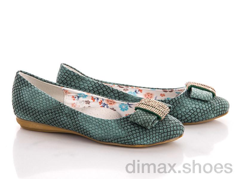 Style-baby-Clibee N3861 green Балетки
