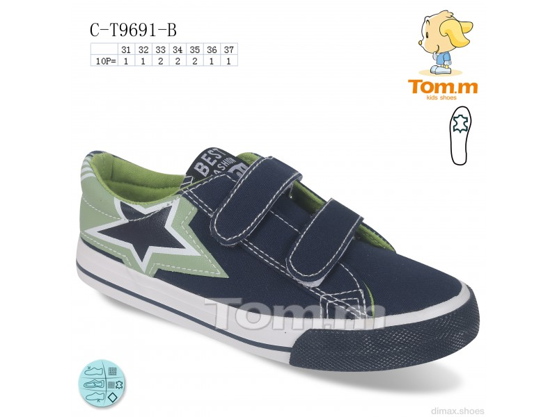 TOM.M C-T9691-B Кеды