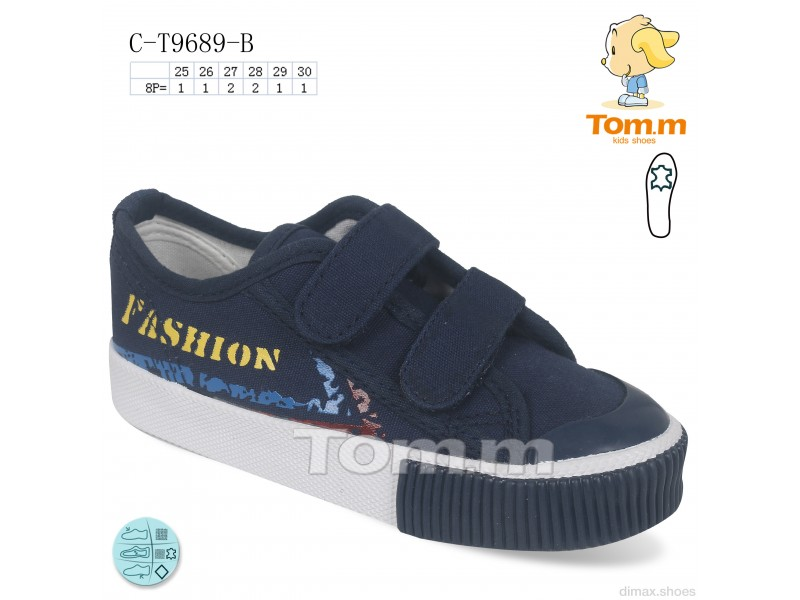 TOM.M C-T9689-B Кеды