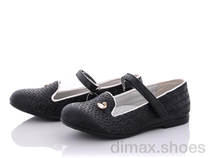 Clibee D378 black Туфли
