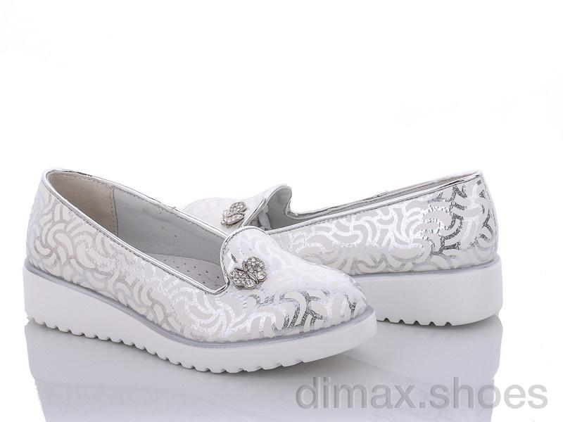 Clibee D530 silver Туфли