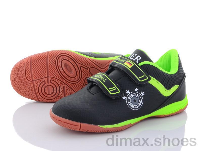 Veer-Demax D1925-1Z черный Футбольная обувь