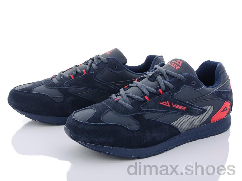 Veer-Demax A6037-2 синий Кроссовки