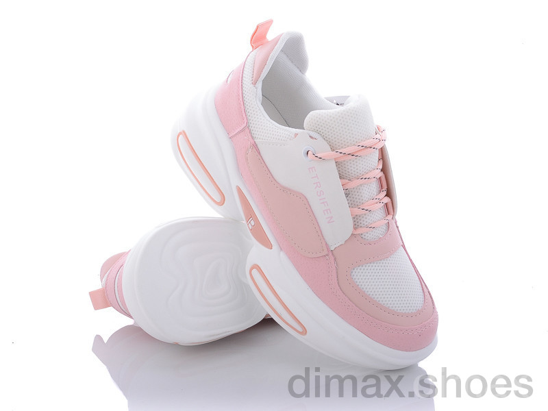 Violeta 172-13 white-pink Кроссовки